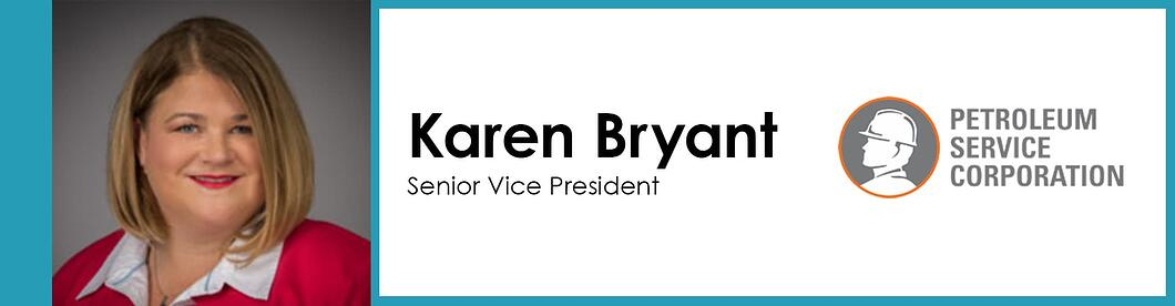 title graphic with picture-karen_bryant